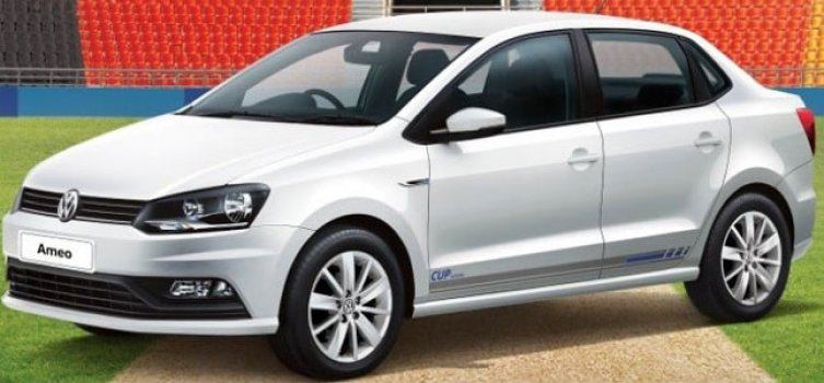 Volkswagen Ameo 1.0 Cup Edition 2019 Price in Indonesia