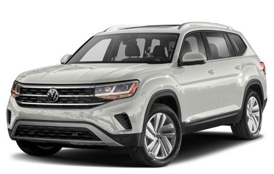 Volkswagen Atlas 3.6L V6 SE with Technology R-Line 2021 Price in Indonesia