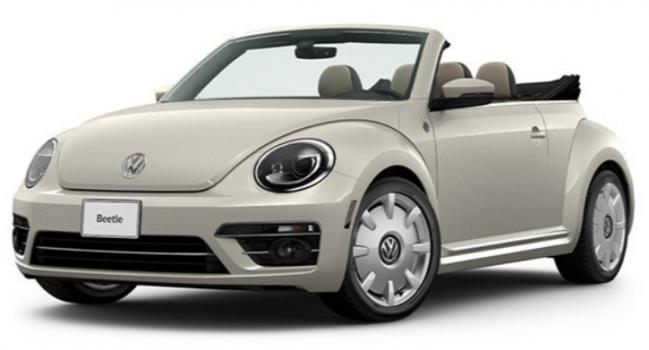 Volkswagen Beetle Convertible Wolfsburg Edition 2019 Price in Turkey