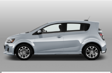 Chevrolet Sonic Premier Hatchback 2018