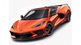 Chevrolet Corvette Stingray C8 Convertible 2020