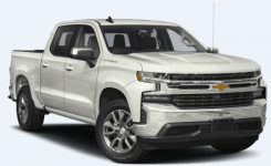 Chevrolet Silverado 1500 LTZ Crew Cab Long Bed 4WD 2019