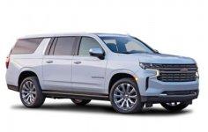 Chevrolet Suburban LT 4WD 2021