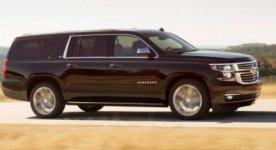 Chevrolet Suburban LT SR Nav