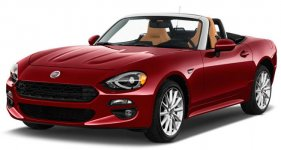 Fiat 124 Spider Lusso Red Top Edition Convertible 2019