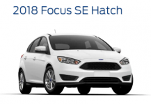 Ford Focus SE Hatchback 2018