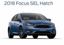 Ford Focus SEL Hatchback 2018