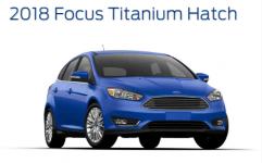 Ford Focus Titanium Hatchback 2018