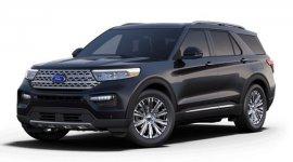 Ford Explorer Hybrid Platinum 2022