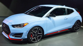 Hyundai Veloster Manual 2019