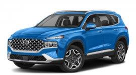 Hyundai Santa Fe Hybrid Blue 2022