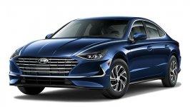 Hyundai Sonata Hybrid Blue 2021