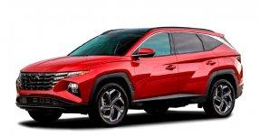 Hyundai Tucson Hybrid Blue 2022