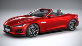 Jaguar F-Type R-Dynamic Convertible 2021