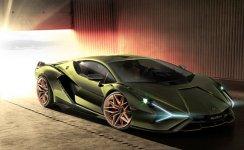 Lamborghini Sian Hybrid 2020