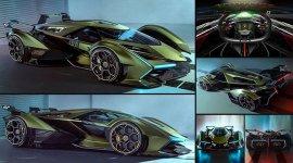 Lamborghini Lambo V12 Vision Gran Turismo Concept 2019