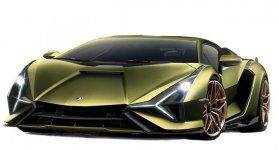 Lamborghini Sian Coupe 2020