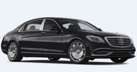 Mercedes Benz S Class Maybach S 650 Sedan 2020