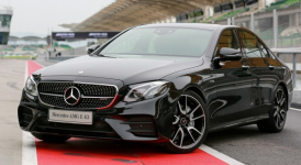 Mercedes-Benz E-Class AMG E43 4Matic Sedan 2018