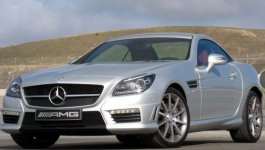 Mercedes Benz SLK-Class 55 AMG