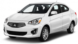 Mitsubishi Mirage ES Manual 2019