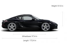 Porsche 718 Cayman (Manual)