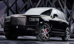 Rolls Royce Cullinan Black Badge 2020