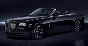 Rolls Royce Dawn Black Badge 2020