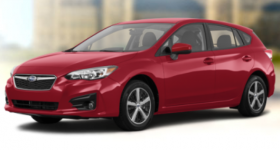 Subaru Impreza Touring 5 door Manual 2019