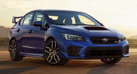 Subaru WRX Sedan Manual 2023