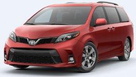 Toyota Sienna SE Premium AWD 7 Passenger 2020