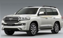 Toyota Land Cruiser 5.7L EXR