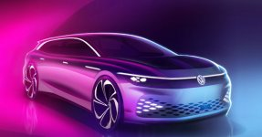 Volkswagen ID. Space Vizzion 2021